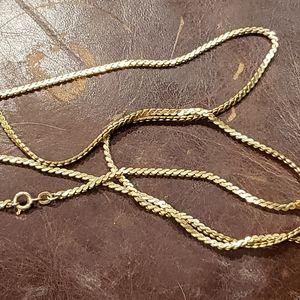 Jewelry - 12K solid gold chain